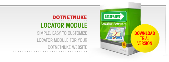 Store Locator Module for your Dotnetnuke Website!